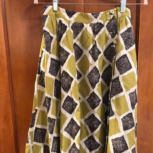 Anthropologie Edme & Esyllte Skirt